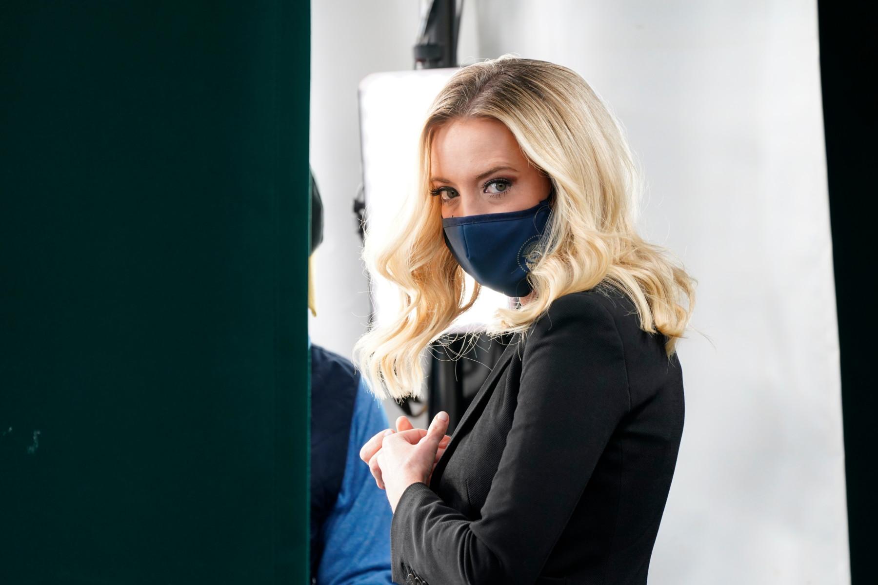 White House Press Secretary Kayleigh McEnany says she's tested positive for coronavirus